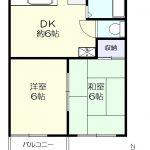 東側の部屋を今回新たに和室から洋室に致しました。(間取)
