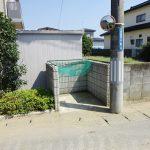 敷地内ゴミ捨て場(玄関)
