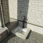 洗車やガーデニングに便利外水栓