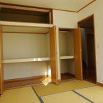1階6帖和室の収納(周辺)