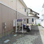 敷地内屋根付き駐輪場