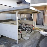 屋根付き駐輪場(周辺)
