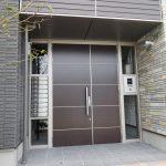 オートロックの共用玄関
