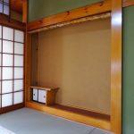 和室8帖の板の間(内装)