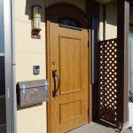 洋風のかわいい玄関(玄関)