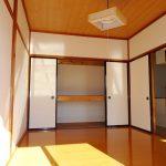 南側洋室の収納(内装)