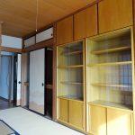 和室7帖の収納(内装)