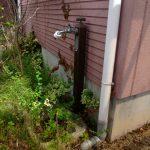 便利な室外水道