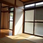 南側の和室