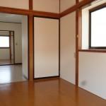 南側の洋室(内装)
